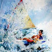 Catch The Wind Art Print by Hanne Lore Koehler