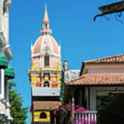 Catedral De Cartagena Art Print