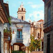 Catedral De La Habana Art Print