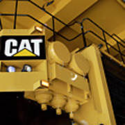 Caterpillar 797f Mining Truck 02 Art Print