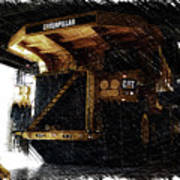 Caterpillar 797f Mining Truck Pa  Art Print