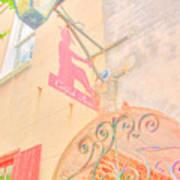 Catfish Row Entrance Chs Art Print