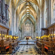 Cathedral Aisle Art Print