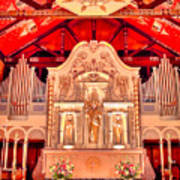 Cathedral Basilica Of St. Augustine Art Print