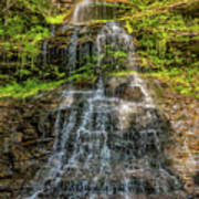 Cathedral Falls 3 Art Print