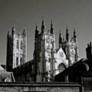 Cathedral Of Canterbury Art Print