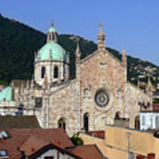 Cathedral Of Como Art Print