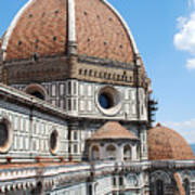 Cathedral Of Florence Art Print