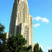 Cathedral Of Learning Print by Thomas R Fletcher