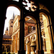 Cathedral Of Trier Window Art Print