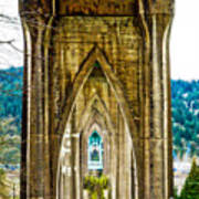 Cathedral Park Art Print