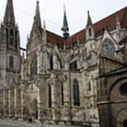 Cathedral Regensburg Art Print