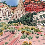 Cathedral Rock Art Print by Donald Maier