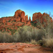 Cathedral Rock In Sedona Art Print