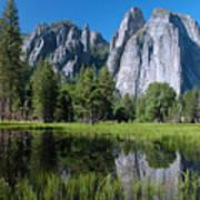 Cathedral Rocks - Yosemite Art Print
