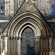 Cathedral Side Door Art Print