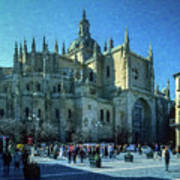 Cathedral, Spain Art Print