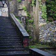 Cathedral Stairs Art Print