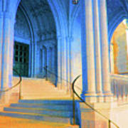 Cathedral Steps Art Print