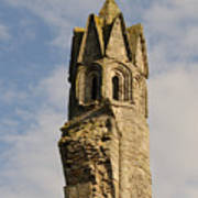 Cathedral Tower Art Print