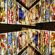 Cathedral Window Montage Art Print