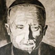 Catholic Cardinal Jozsef Mindszenty Art Print