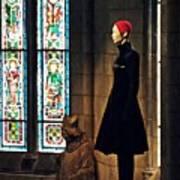 Catholic Imagination Fashion Show 2  Art Print