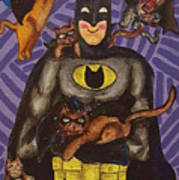 Catman Art Print