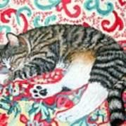 Catnap Time Art Print