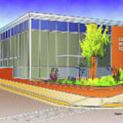 Catonsville Middle School Art Print
