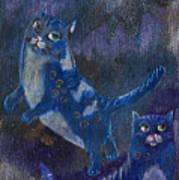 Cats And Reiki Art Print