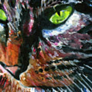 Cats Eyes 11 Art Print
