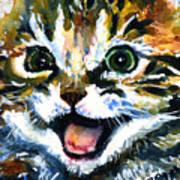Cats Eyes 15 Art Print