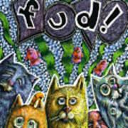 Cats Know It By Name Art Print by Teresa Nolen Pratt