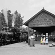 Catskill Railroad Art Print