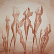 Cattails Art Print