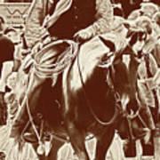 Cowboy Comtemplation Art Print