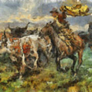 Cattle Art Print
