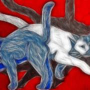 Catwalk Art Print