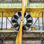 Caudron G3 Propeller - Vintage Art Print