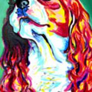 Cavalier - Herald Print by Alicia VanNoy Call