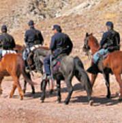 Cavalry Rides Art Print