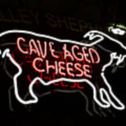 Cave Aged Cheese Art Print