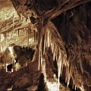 Cave Interior Art Print