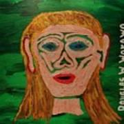 Cave Lady Art Print