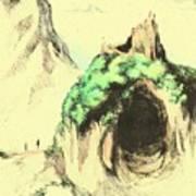 Cave Mouth Art Print