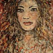Cave Woman Art Print