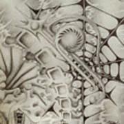Cavern Of The Id Art Print by Sean Imler