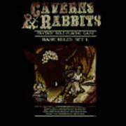 Caverns And Rabbits Art Print
