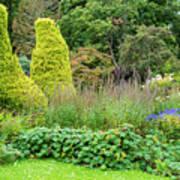 Cawdor Castle Garden Art Print